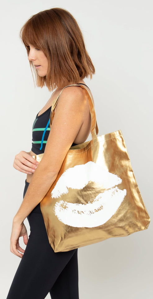 Santa Barbara Kiss Tote Bag