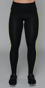 Noli Energy Legging Black Yellow Reflective