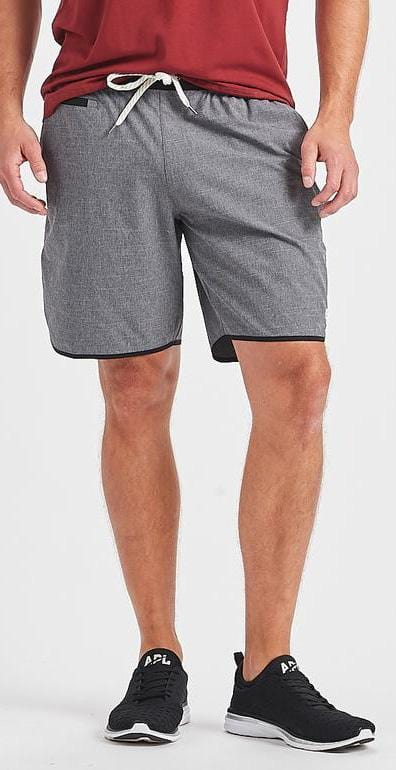 Vuori Banks Short Charcoal Texture