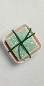 Mer-Sea & Co Bar Soap In Ceramic Dish Sea Pines