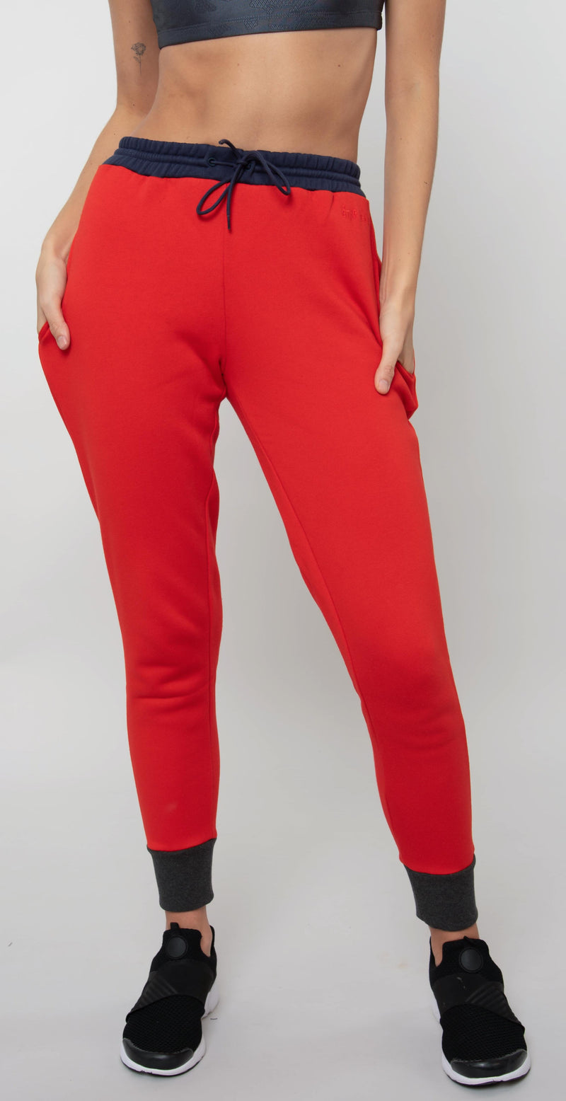 Être Cécile Colour Block Track Pants Multi