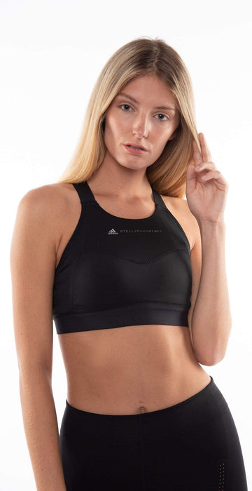Adidas by Stella McCartney Black Essential Bra