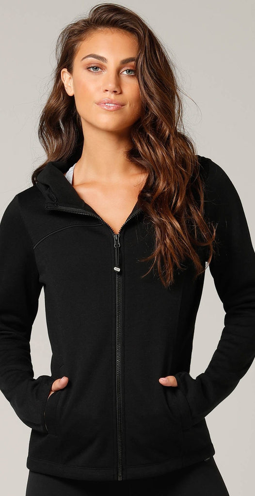 Lorna Jane Classic Luxe Active Jacket Black