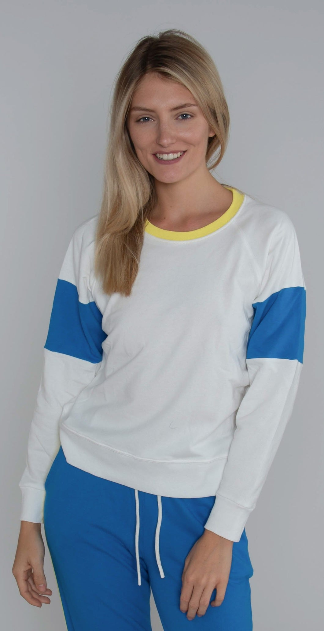 Splits59 Madison Sweatshirt Off White Rugby Multi