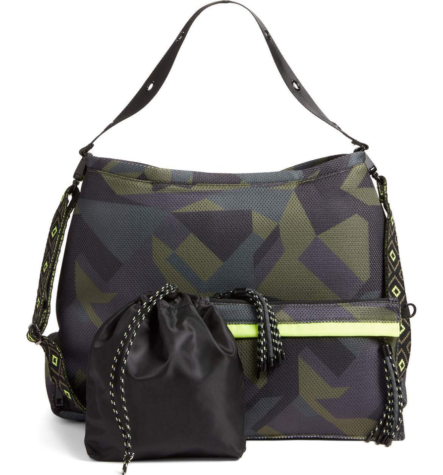 Dash Dash Dot Infinity Bag Camo Yellow