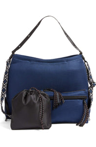Dash Dash Dot Infinity Bag Navy