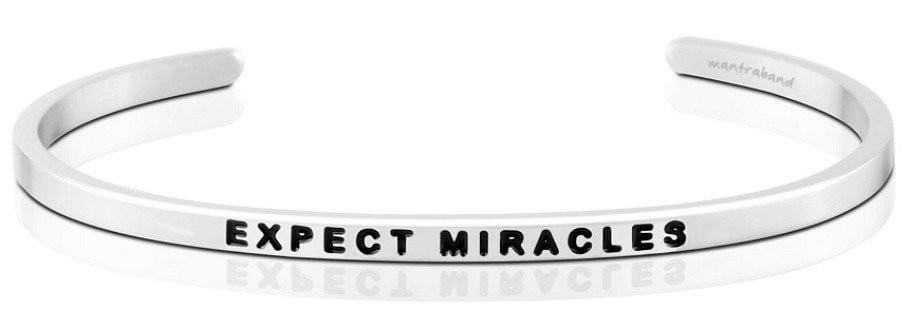 Expect Miracles Mantraband