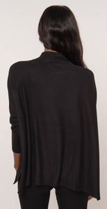 French Kyss Mock Neck Top Black