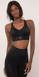 Adidas by Stella McCartney TruePace Bra Black