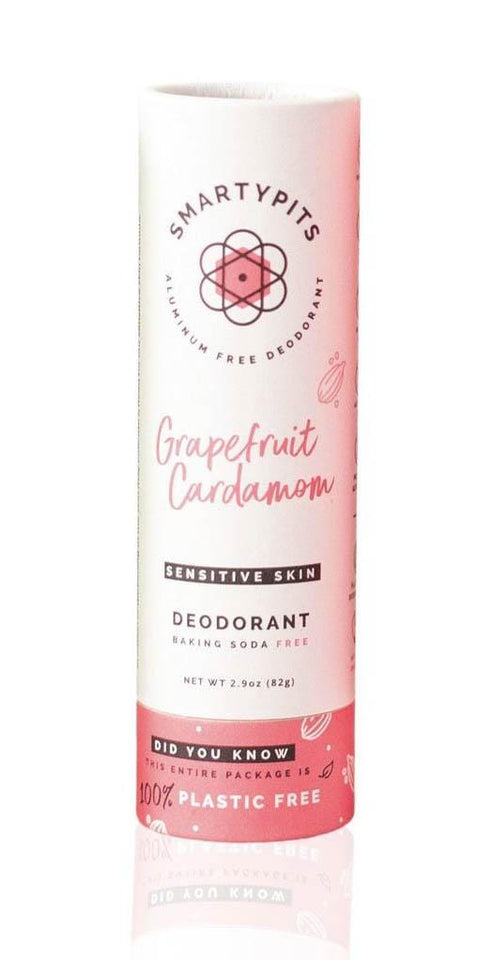 Smartypits Grapefruit Cardamom Sustainable Deodorant