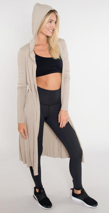 Fitness Hub Shop Iris Cardigan Clay