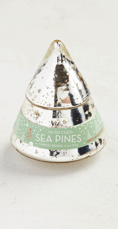 Mer-Sea Holiday Tree Candle Sea Pines