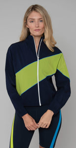 Splits59 Play Off Jacket Indigo/Neon Multi
