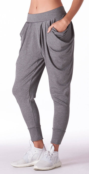 Michi Imperial Harem Pant Heather Gray