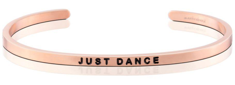 Just Dance Mantraband Rose Gold