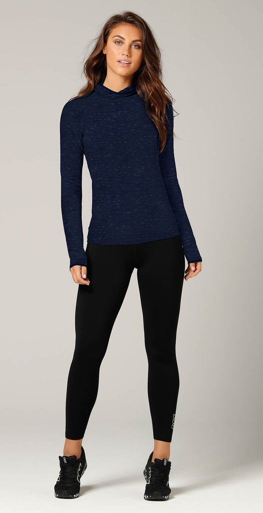 Lorna Jane Kimya Long Sleeve Top Ink