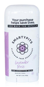 Smartypits Lavender and Rose Deodorant