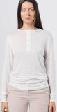 MF People Linen Henley White