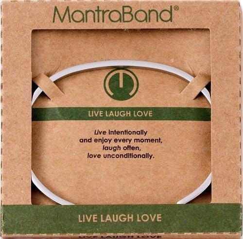 Live Laugh Love Mantraband