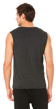 Alo Yoga Triumph Muscle Tank Charcoal Black