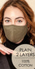 HyFve Reusable & Washable 2-Layer Face Mask Olive