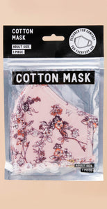 HyFve Reusable & Washable 3-Layer Face Mask Pink Flower COVID