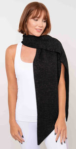 Look by M Sparkled Knit Petite Scarf