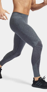 LNDR Strength Seamless Tight Charcoal Marl