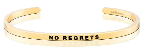 MantraBand No Regrets Yellow Gold