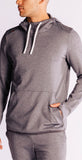 Rhone Nylon Tactel Hoodie Asphalt Heather