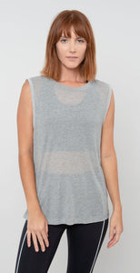 Free People Movement Om Tank Gray