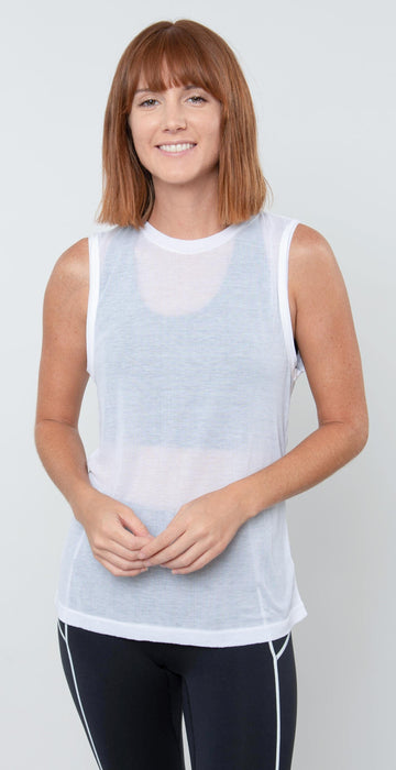 Free People Movement Om Tank White