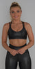 Beyond Yoga Spot On Bra Black/Active Slate