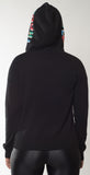Threads Of Privilege Cashmere Game Over Hoodie Black