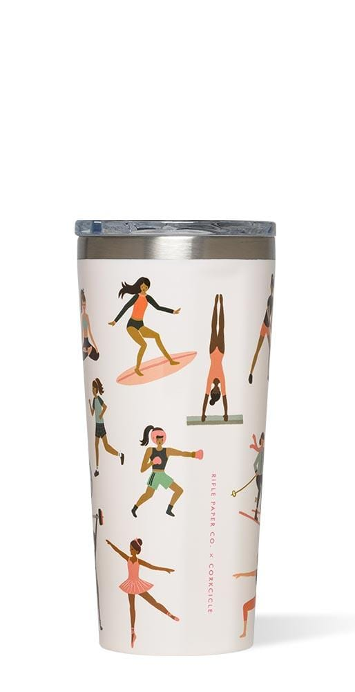 Corkcicle Tumbler Rifle Paper Sports Girls