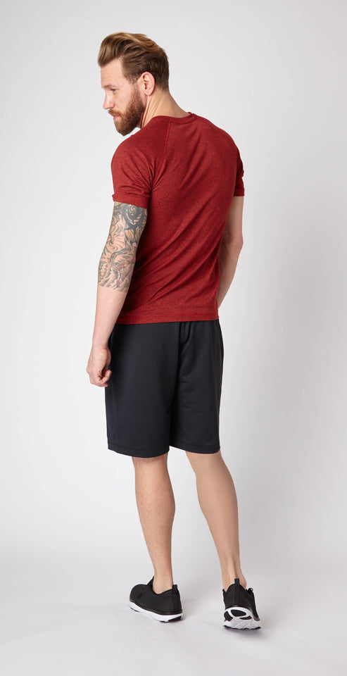 Rhone Reign Short Sleeve Mars Red