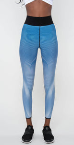 Ultracor Ruffle Wave Ultra High Legging Blue Metal