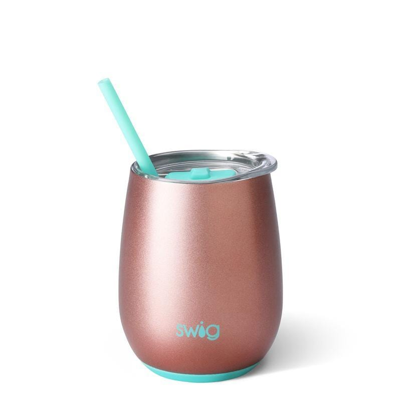 Swig Stemless Wine Cup Rose Gold