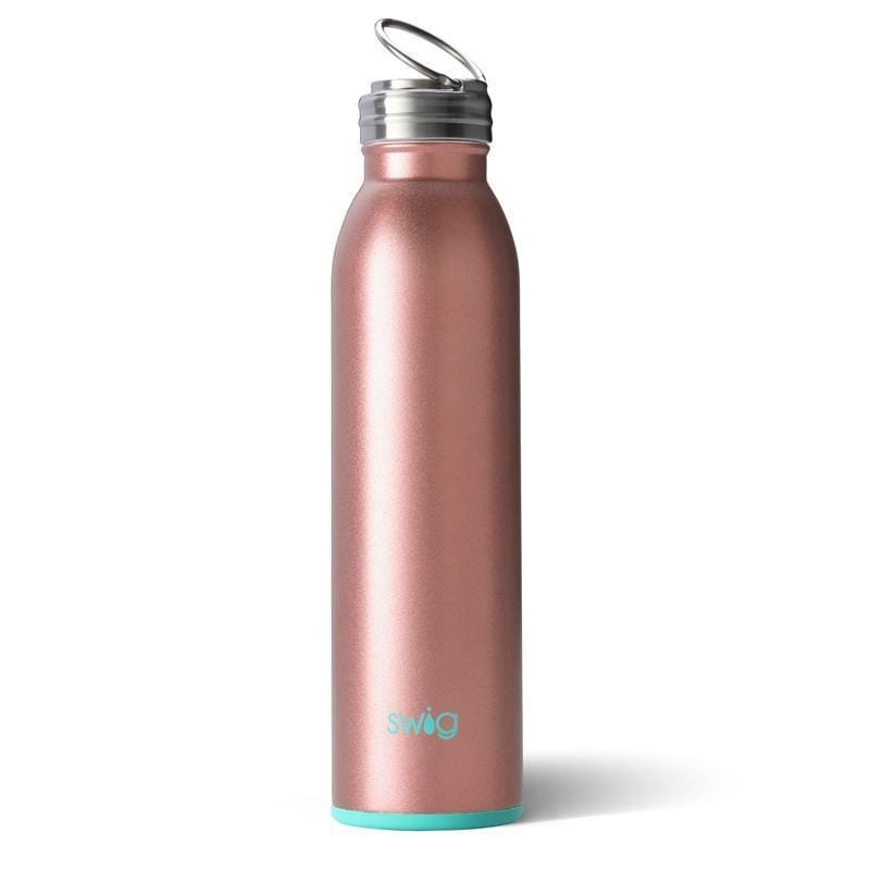 Swig Water Bottle Rose Gold