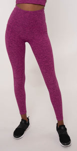 Beyond Yoga Out of Pocket High Waisted Midi Legging Magenta