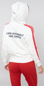 Spiritual Gangster Love Yourself Classic Hoodie Stone