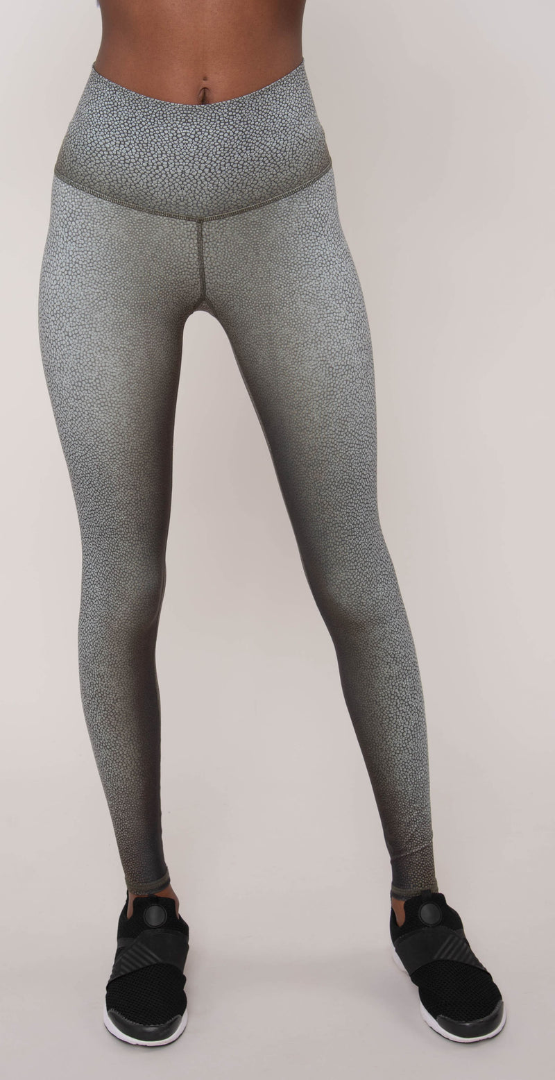 Niyama Sol Shagreen High Waisted Legging Fatigue