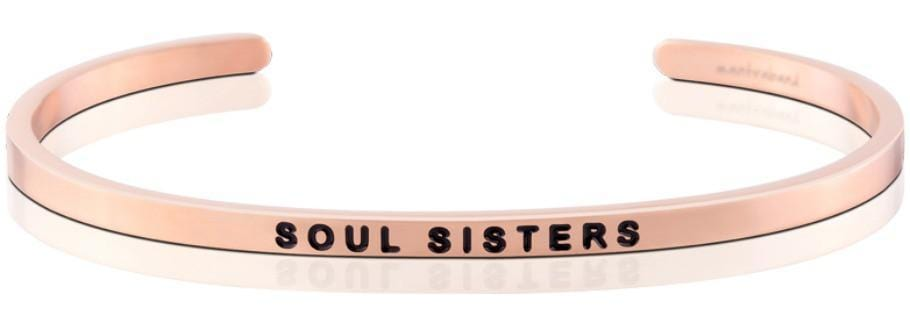 Soul Sisters Mantraband Rose Gold