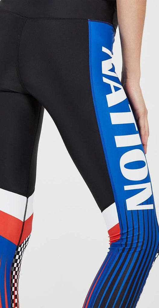 P.E Nation Speed to Spare Legging Black