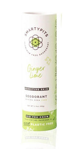 Smartypits Ginger Lime Sustainable Deodorant