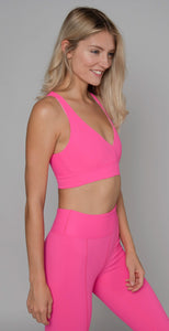 Year or Ours Victoria V Bra Hot Pink