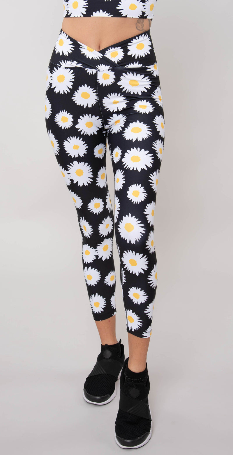 Year of Ours Daisy Veronica Legging Daisy Black