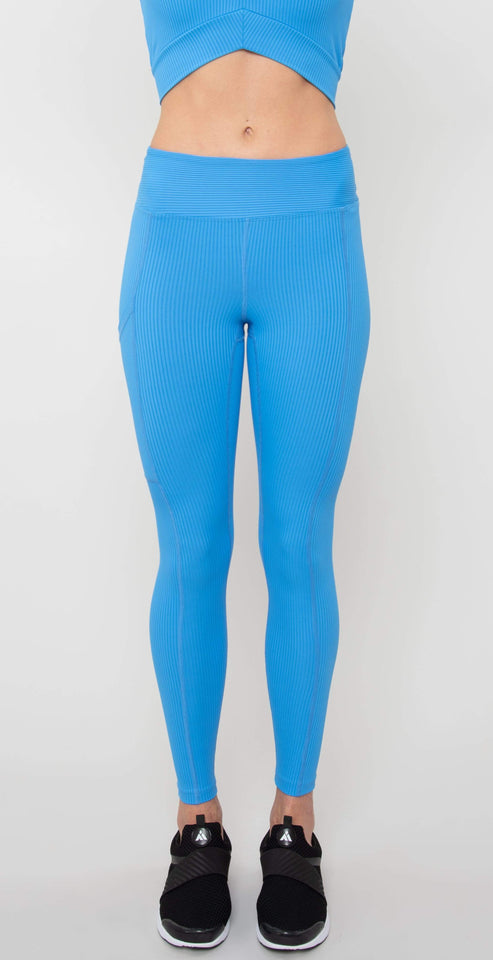 Year of Ours Walker Legging Club Blue