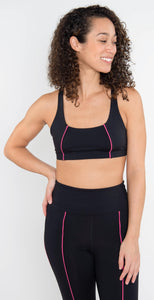Year of Ours YOS Sports Bra Black