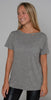 N Philanthropy Harlow BFF Tee Heather Gray
